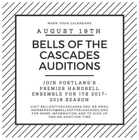Audition for the 2017-2018 season
