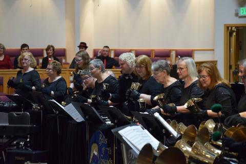 Bells of the Cascades in concert
