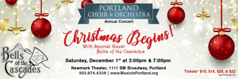 Portland Choir and Orchestra, with Bells of the Cascades