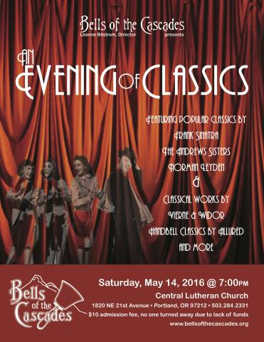 Bells of the Cascades: An evening of classics