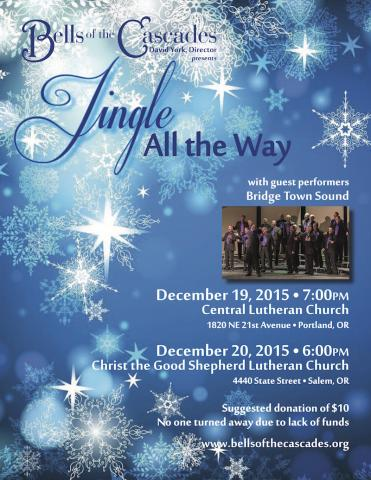Bells of the Cascades 2015 holiday concert: Jingle All the Way