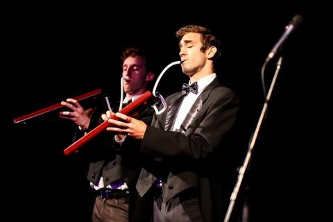 Melodica Men in concert
