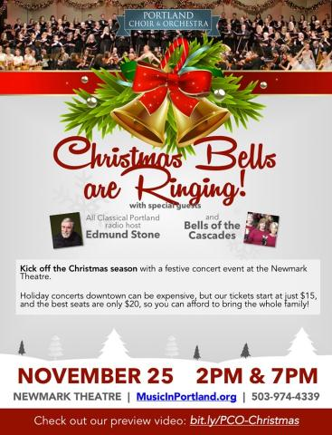 Portland Choir & Orchestra, with Bells of the Cascades