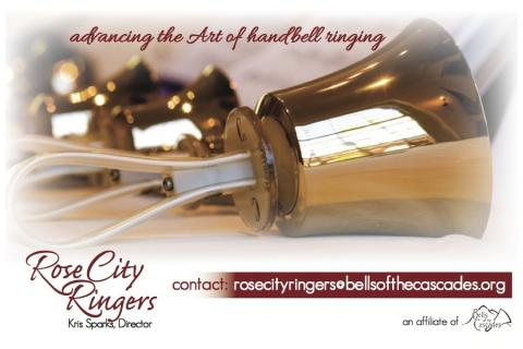 Rose City Ringers: Advancing the art of handbell ringing
